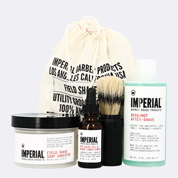 Imperial Field Shave Kit