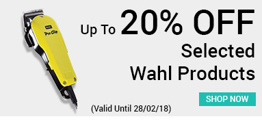 up to 20% off selected wahl products