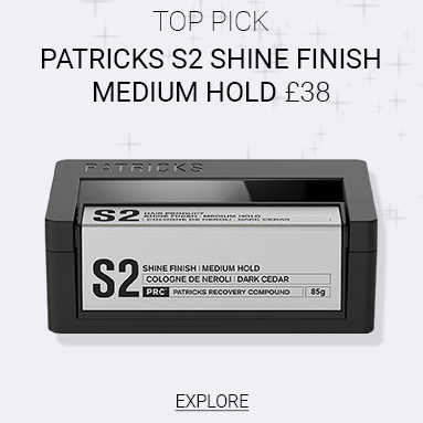 Patricks S2 Shine Finish Medium Hold Styling Product
