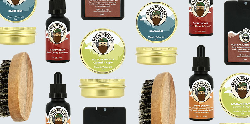 Our brand of the week is Tactical Beard Care.