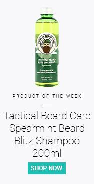 Tactical Beard Care Spearmint Beard Blitz Shampoo 200ml
