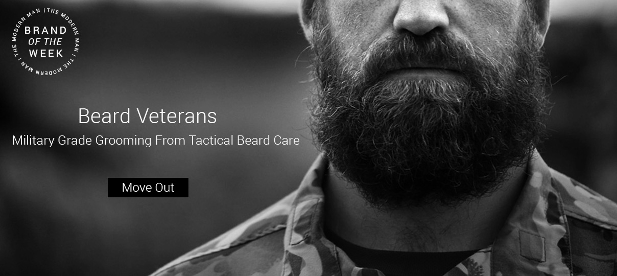 Check out our brand of the week, Tactical Beard Care.