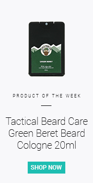 Tactical Beard Care Green Beret Beard Cologne 20ml