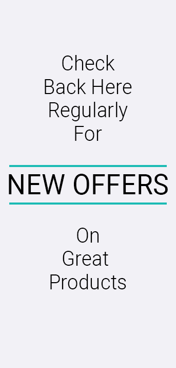 Check back here regularly for new offers on great products