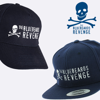 Spend £75 or more on Bluebeard's Revenge shaving or beard products and get a free baseball or snap back cap