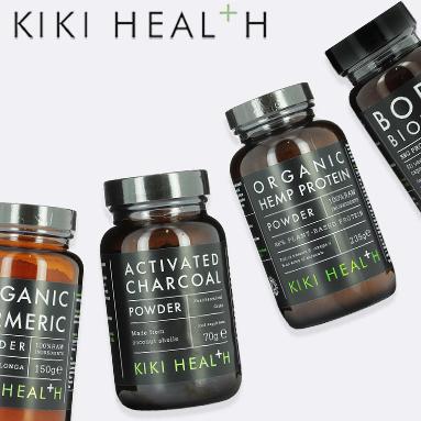 Save 20% off the entire Kiki Health range