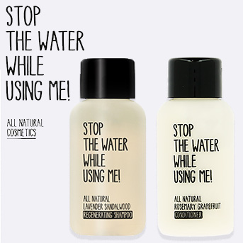 buy two stop the water while using me worth £10 and get a travel duo set