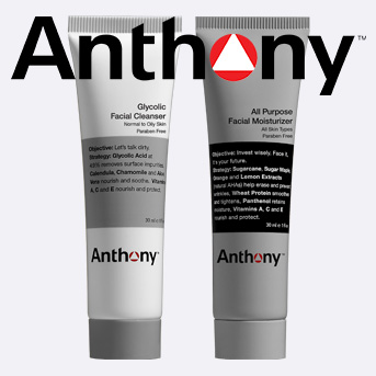 buy any two anthony products and receive a free gift