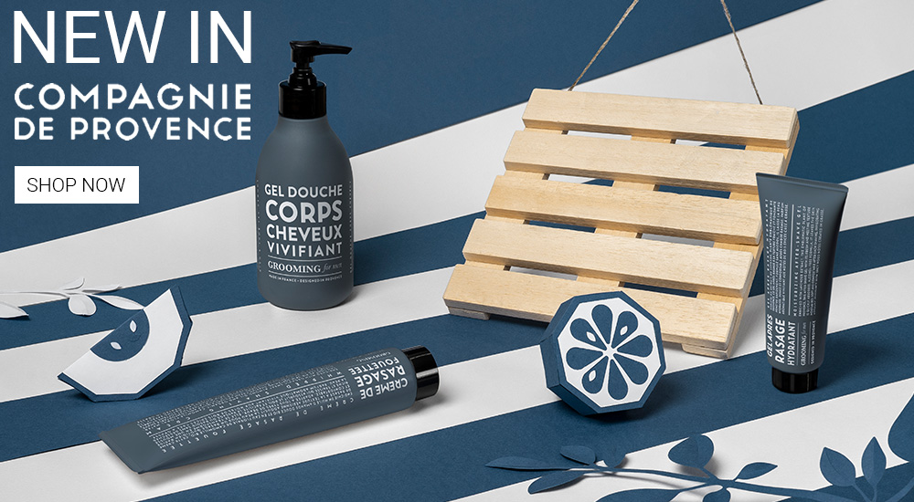 compagnie de provence grooming for men