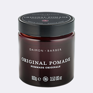Nail a natural style with Daimon Barber Original Pomade