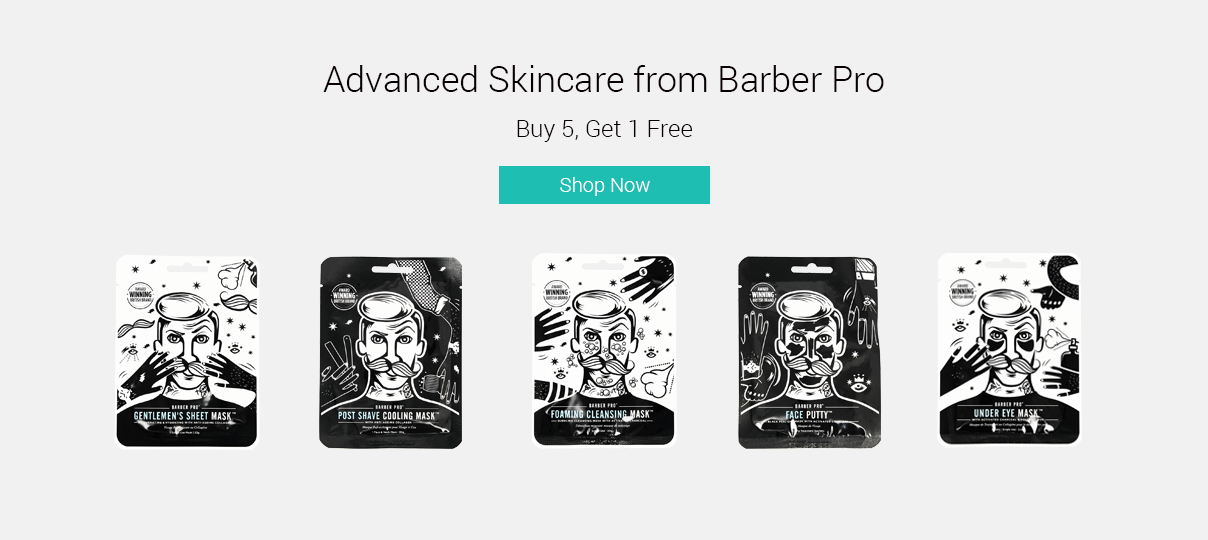 Check out Barber Pro Face Masks