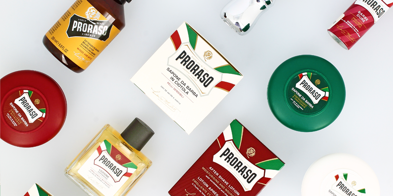 Our Brand of the Month for August is Proraso!