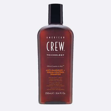 Control your scalp's oil levels with American Crew.