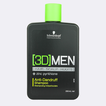 Eradicate all signs of dandruff with Schwarzkopf [3D] Men