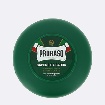 Discover our favourite shaving soap, Proraso Italian Shaving Soap and Bowl Eucalyptus