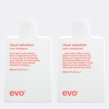 Buy any Evo Shampoo, get 20% off any Evo Conditioner