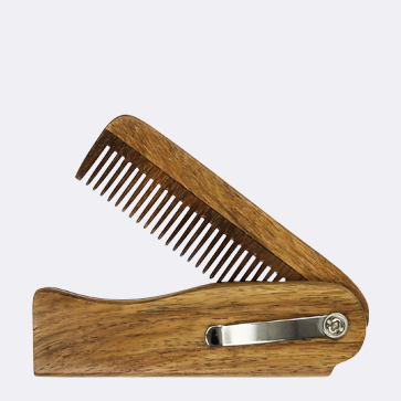 We love the Dr Dittmar Wooden Folding Comb