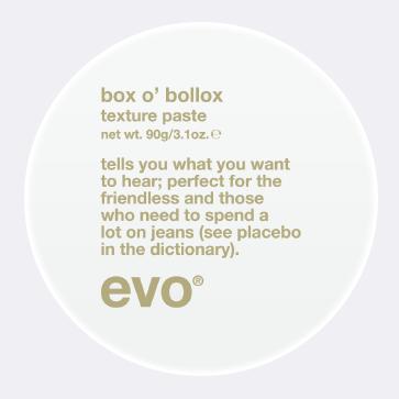 Evo Box O'Bollox Hair Paste