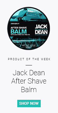 Our product of the week this week is Jack Dean Post Shave Balm - great for cooling skin after a shave